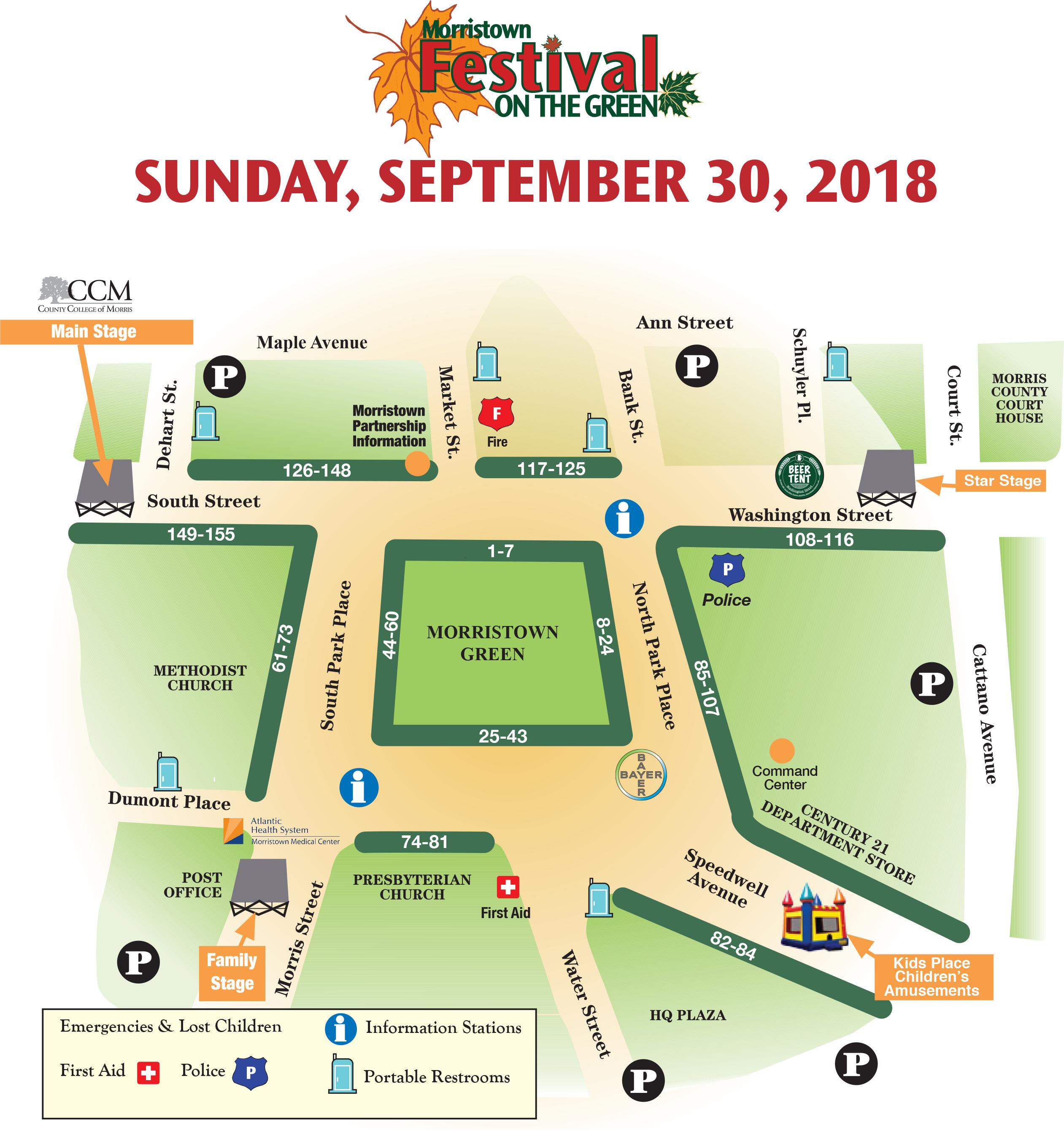 Morristown Festival on the Green 2018 | Morristown Partnership